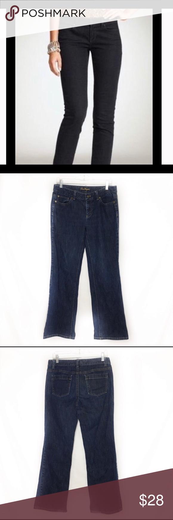 Ann Taylor Denim Modern Fit Lindsay Waist Jeans Denim Blue 5 Pocket Button Zipper Fly Closure Excellent Condition Cotton El Clothes Design Modern Fit Jeans