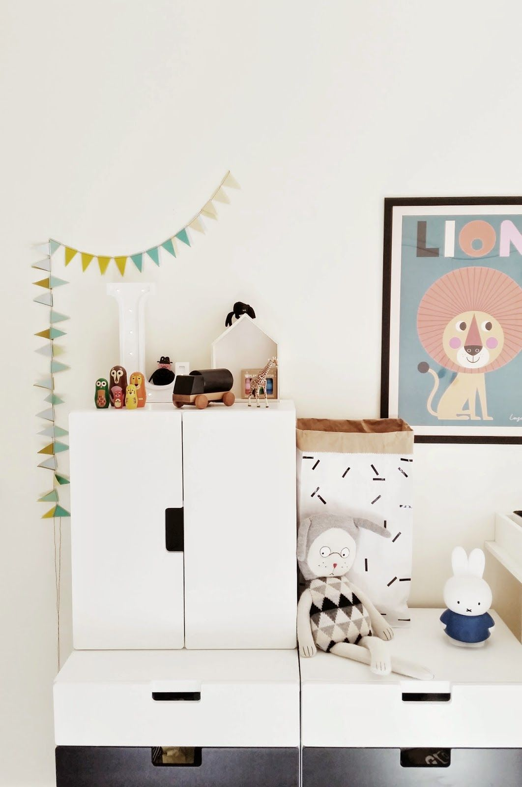 Perfect kids room storage IKEA Stuva system