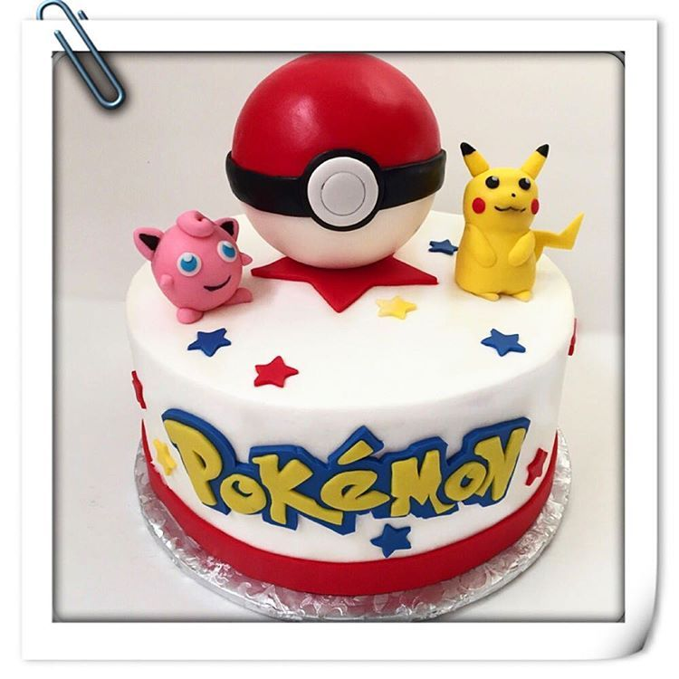 Pokemon Birthday Cake Designs