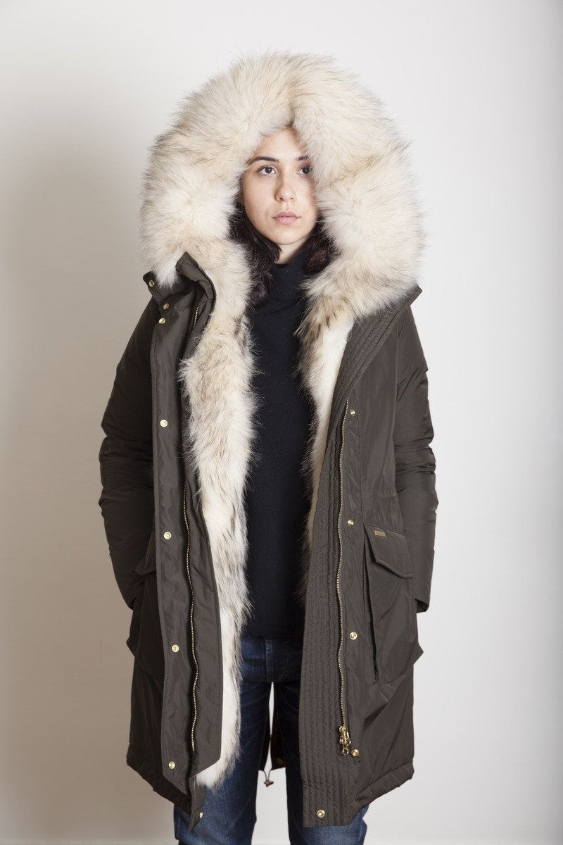 separation shoes 0d314 3b69e W'S Anorak Navy in 2019 | Fashion-Winter | Parka, Military ...