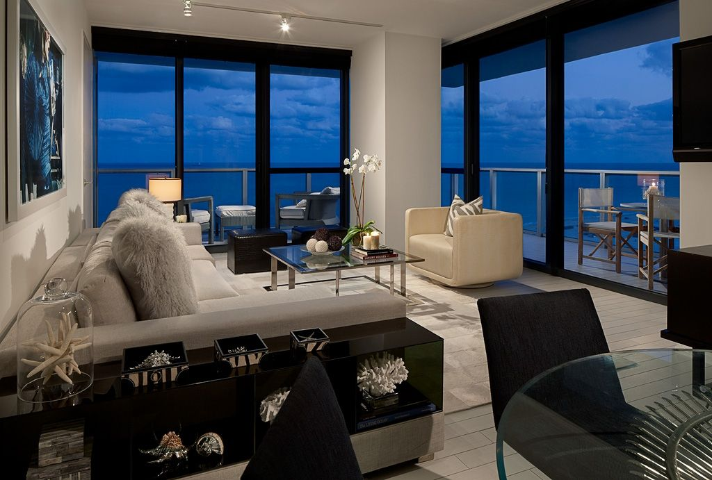 Cool Corner Suite One Of The Vip Suites At W South Beach