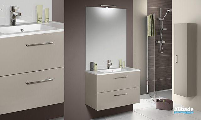 Meuble de salle de bains Duoexpress 80 de Delpha maison Pinterest