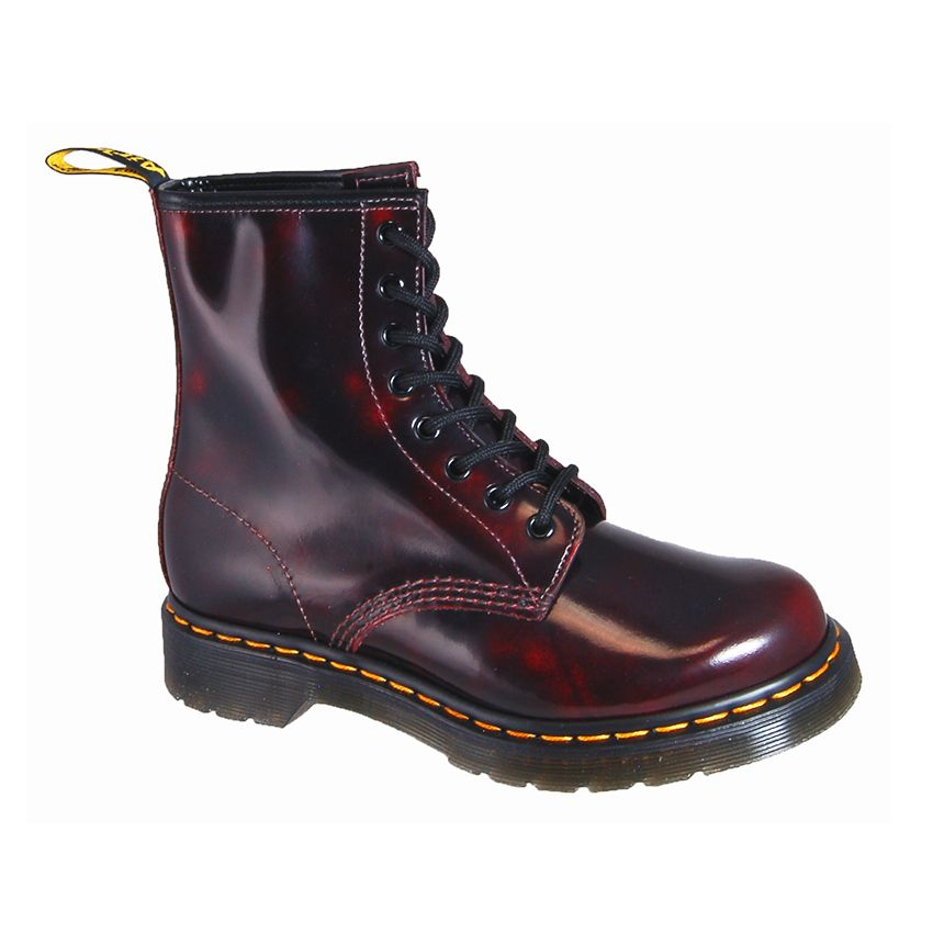 99bc1c20e5dd51 Dr. Martens Men s 1460 8 eye Rogue Arcadia Cherry Red  JustBuyTheShoes