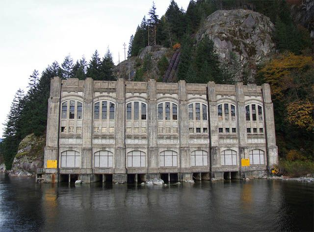BC Hydro in Vancouver, Canada, owns a couple of truly spectacular