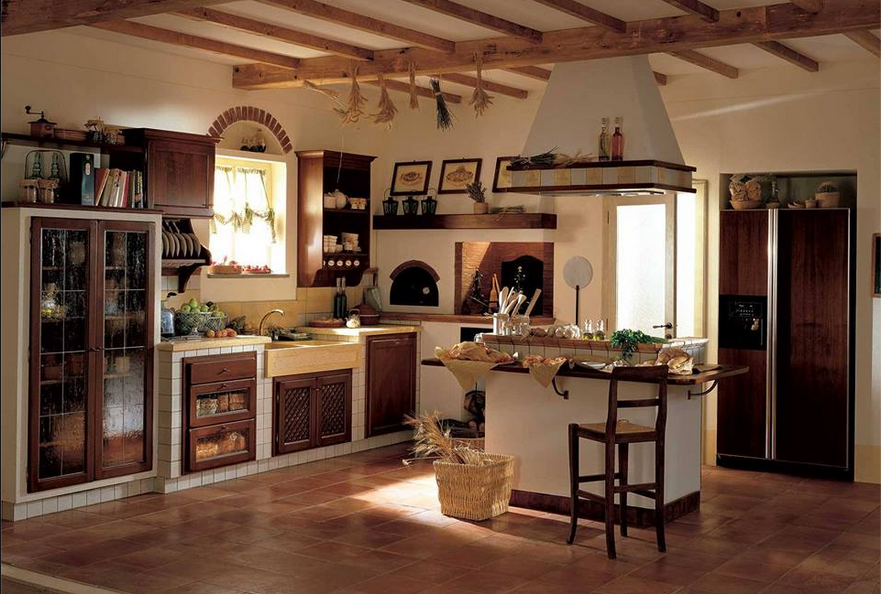 Rustico Arredamento ~ Cucina shabby rustica legno arredamento shabby cucine