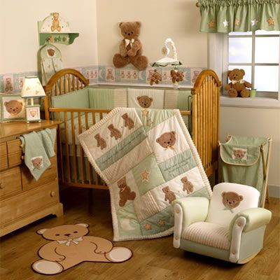 Teddy Bear Baby Nursery Im In Love I Would Change The