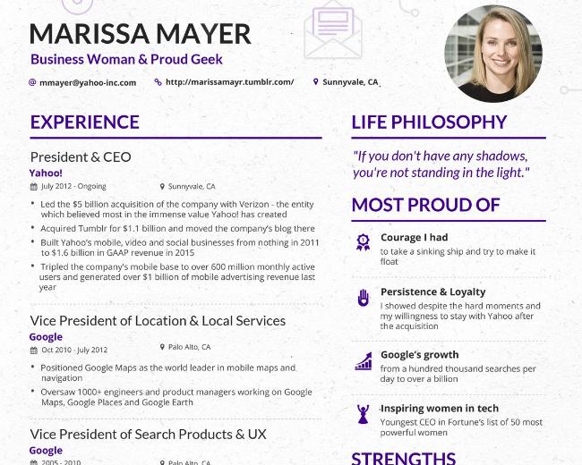Ceo Yahoo Resume Google Search Resume Ceo Life Philosophy