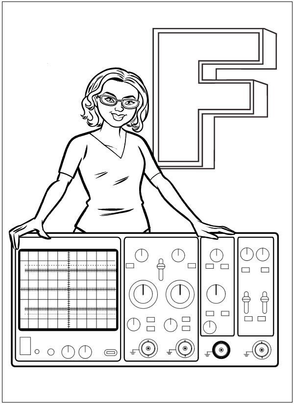 coloring book ladyada s e is for electronics