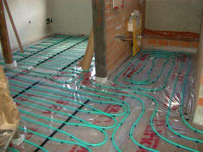 Suelo Radiante El Sistema De Calefaccion Mas Economico Limpio Silencioso Confortable Y Saludable Que Existe Suelo Radiante Suelos Hogar