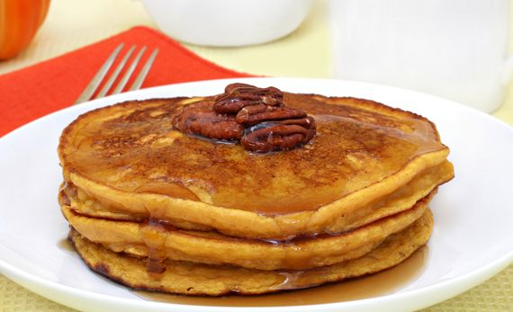 Une envie de pancakes? Recipe: Spiced Pumpkin Pancakes