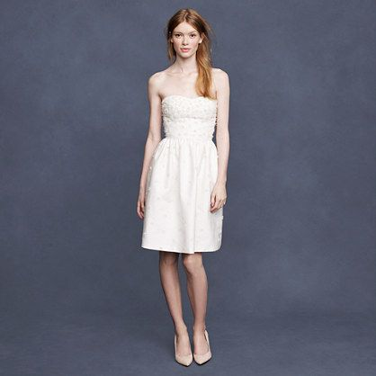 J.Crew - Pearl Blossom Dress (Ivory)