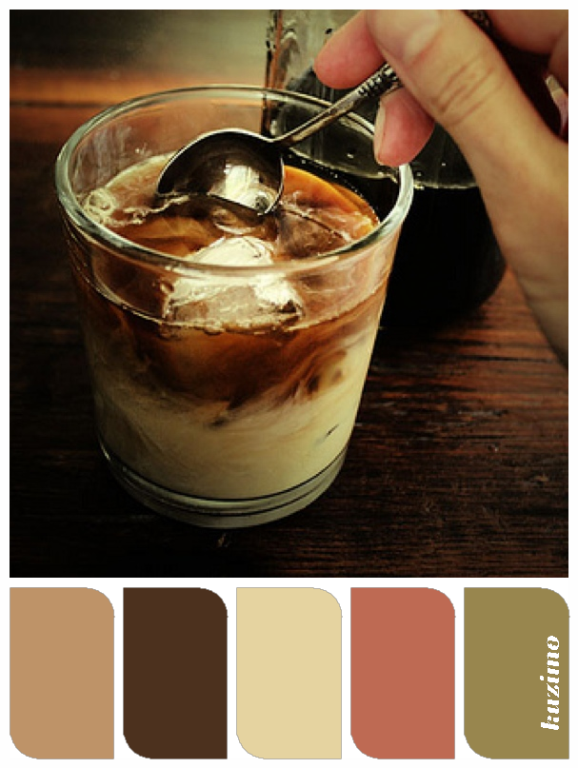 Coffee Delight color palette created from one of my photos #color #palette #SusanTuttle #Susan_Tuttle #coffee http://www.susantuttlephotography.com