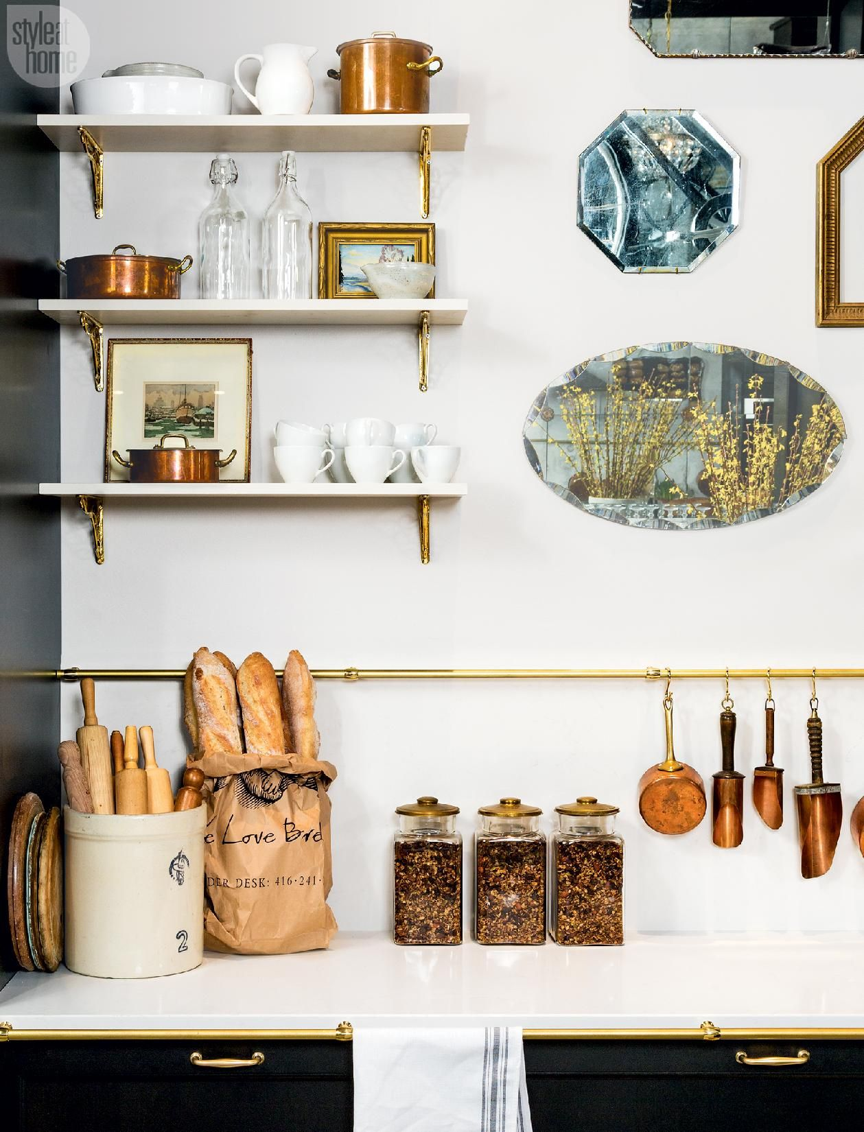 Photo of Kitchen design: Classic Parisian charm | Style at Home