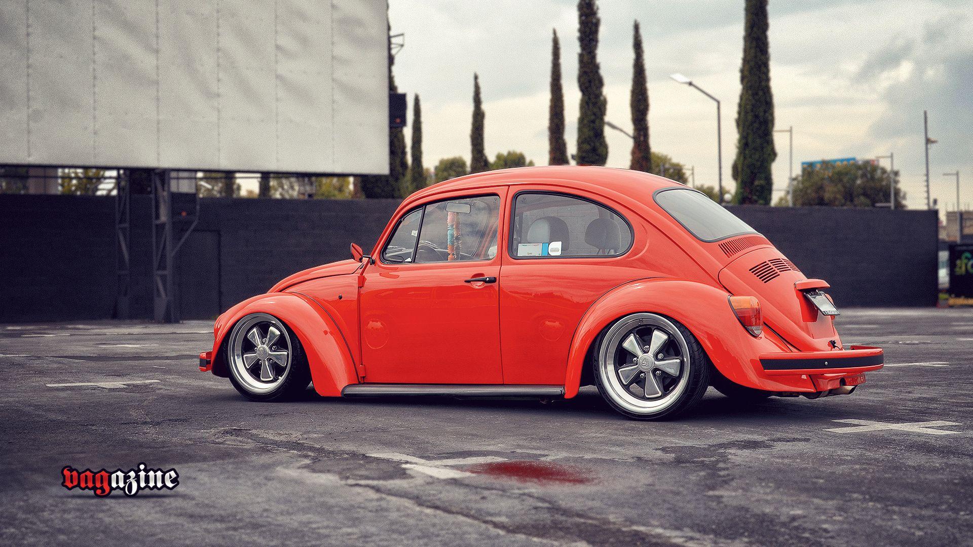 vw bug - lowered vw bug & porsche wheels | vw | pinterest