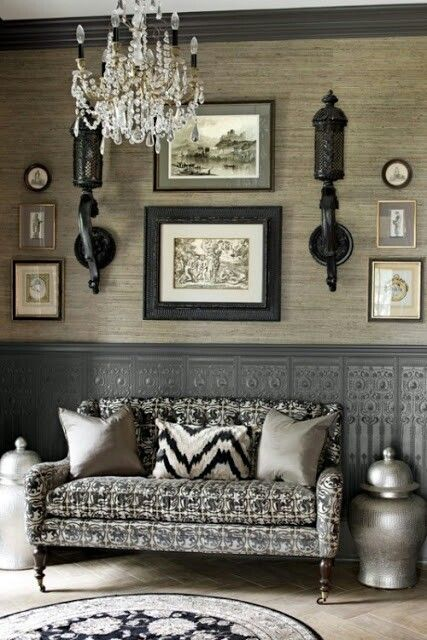 Not Your Usual Black And White Decor. Monochrome Done Well.