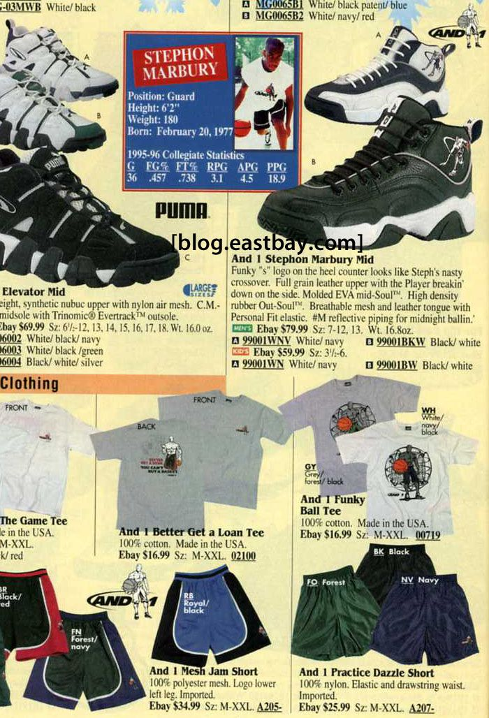 f3dddc9229d AND1 Stephon Marbury Mid – Winter 1996