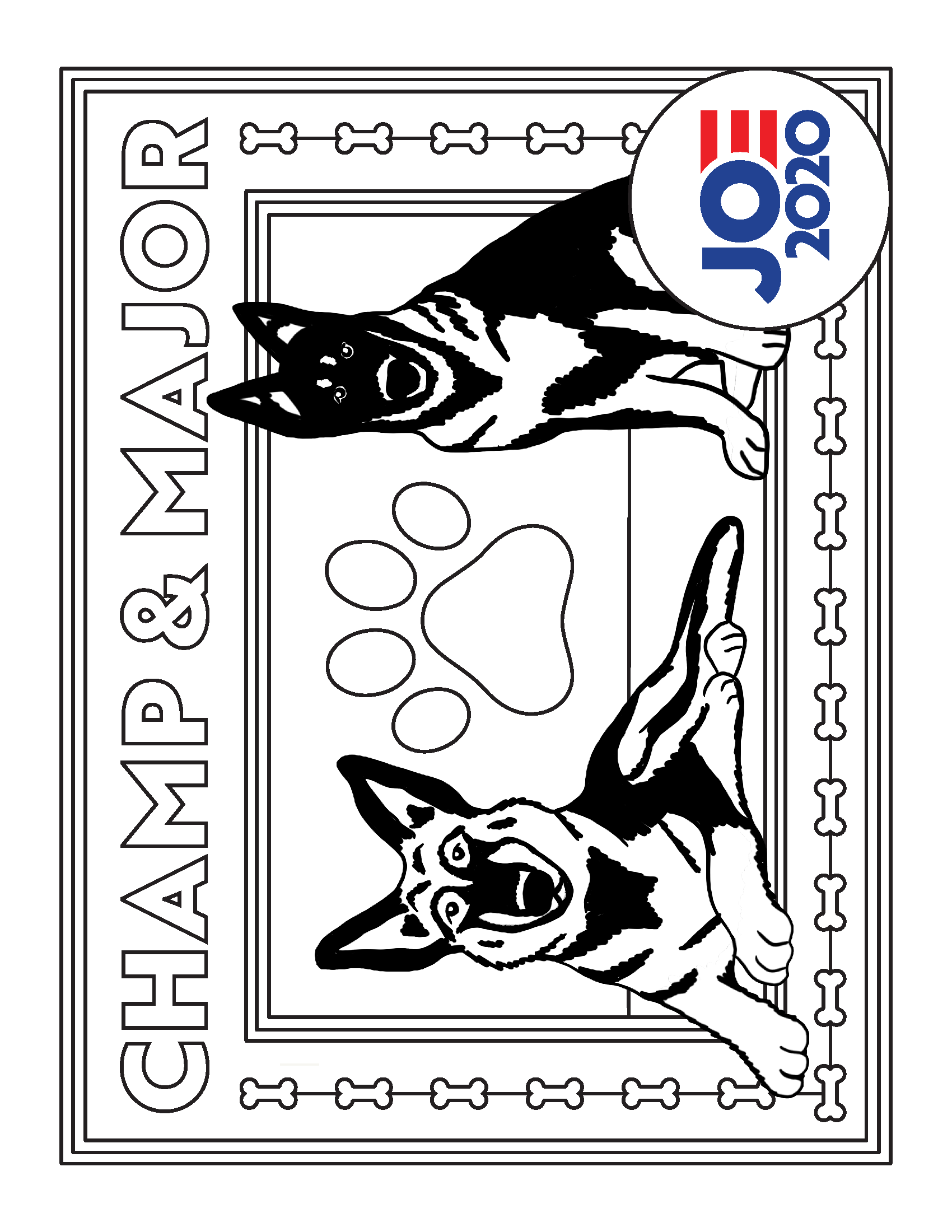 Printable Coloring Sheet For Kids With Dogs Coloring Sheets For Kids Printable Coloring Sheets Dogs And Kids