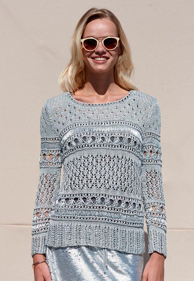 Photo of Damen-Pullover Yasamin – Strickanleitungen bei Makerist sofort runterladen