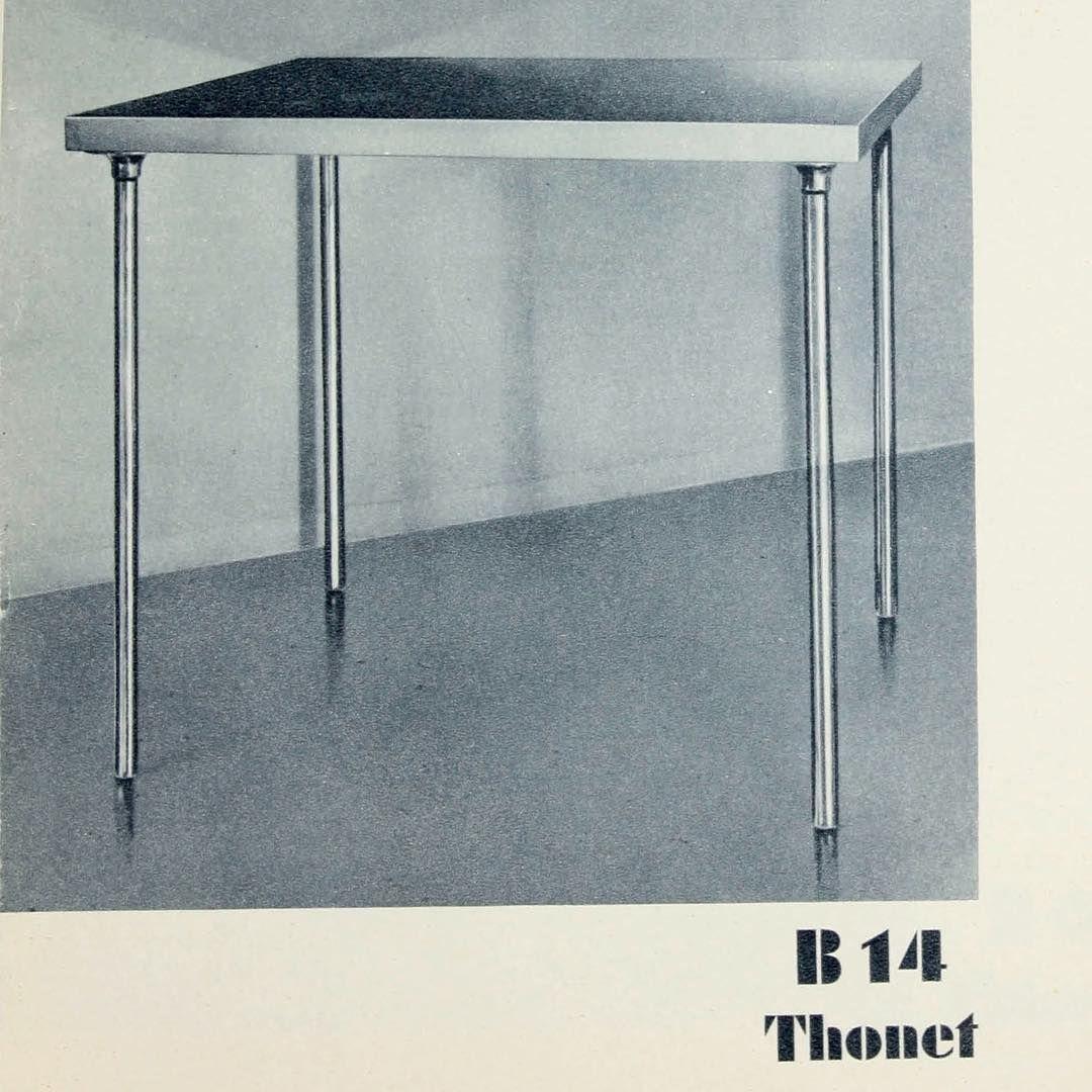 Thonet furniture catalogue 1935 thonet