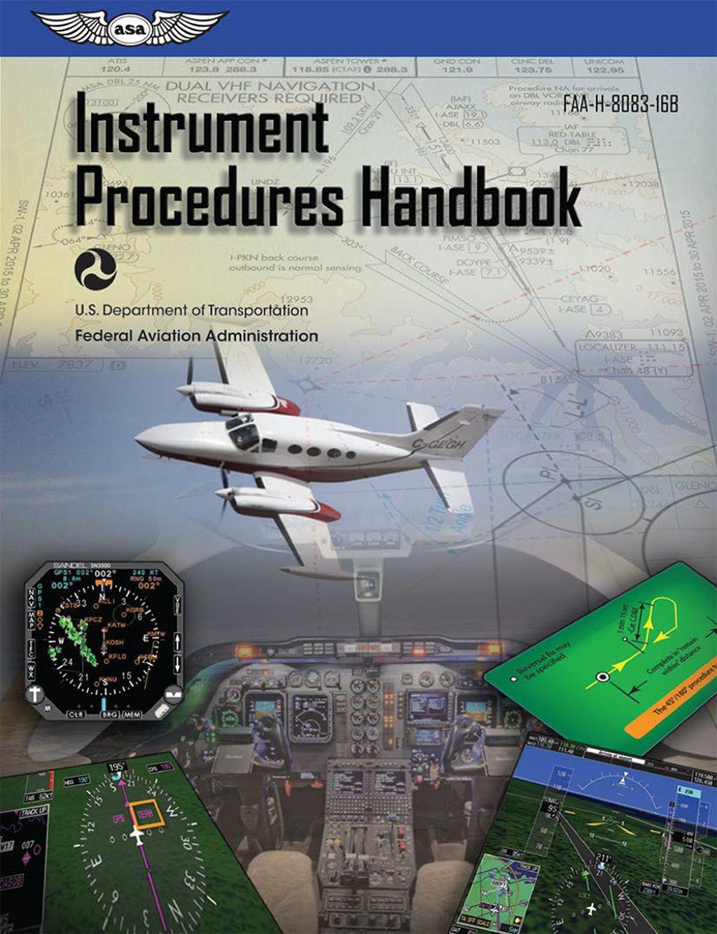 Instrument procedures handbook ebook aviation training