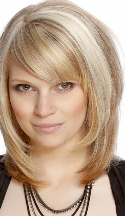 Shoulder Length Hairstyle With Bangs 2017 : Layered haircuts with bangs 2017 http: trend hairstyles.ru 864