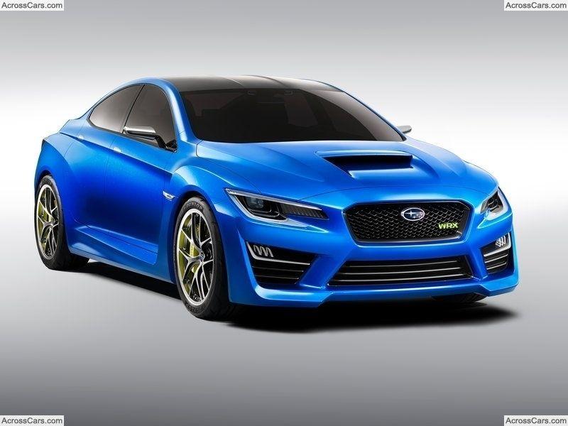 Subaru WRX Concept (2013) Subaru wrx, Subaru cars, Wrx