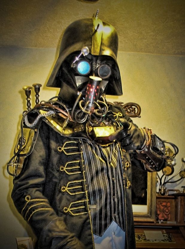 darth steam punk darth and others pinterest steam punk and punk. Black Bedroom Furniture Sets. Home Design Ideas