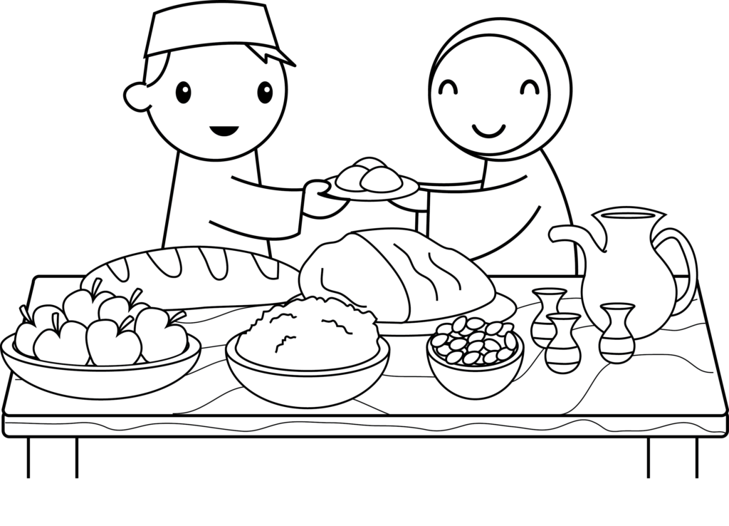 Pin by Vipin Gupta on Happy Eid Mubarak Coloring pages