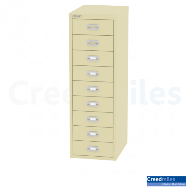 Bisley 9 drawer H399NL – 39 Series Multidrawer – Creed-Miles- Interiors That Deliver