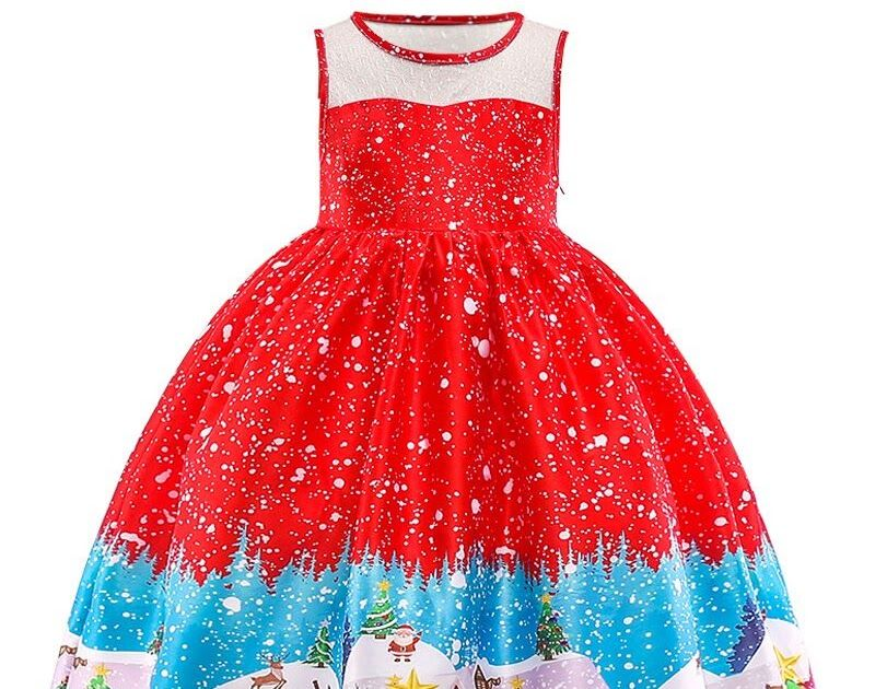 8a36acaf Promo Offer New Fashion Christmas Princess Of Girls Dresses Reception  Formagirls Clothes Ball Gown For Girl Dress Knee-length Style 2-12year