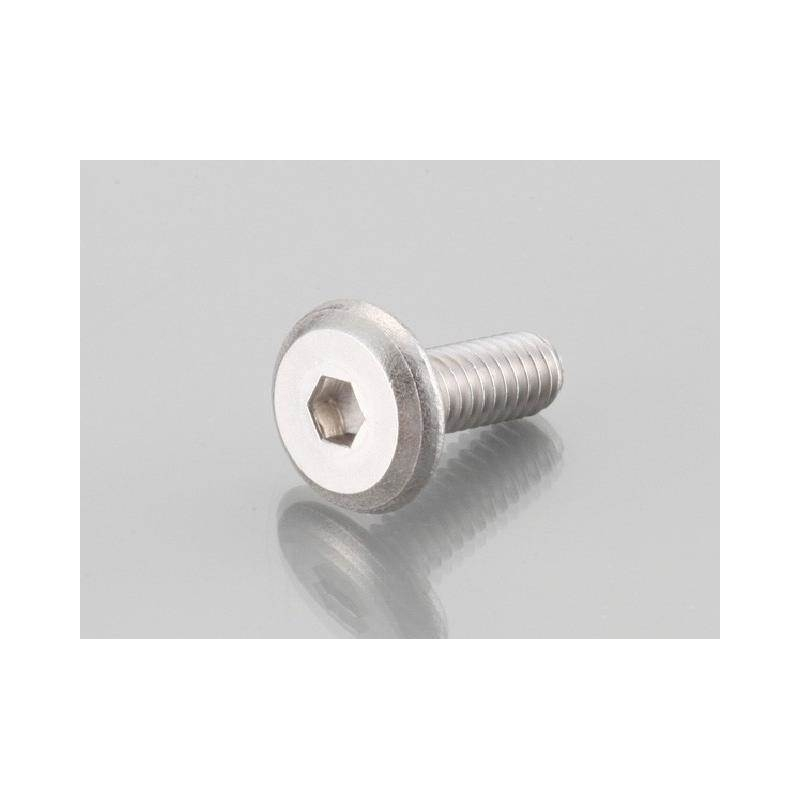 Flat Button Head Cap Bolts Stainless M6 X 15 P 1 0 Price 2 18 Kitaco 0900 062 30001 Directly Available At Motorkit Inox Vis Conne