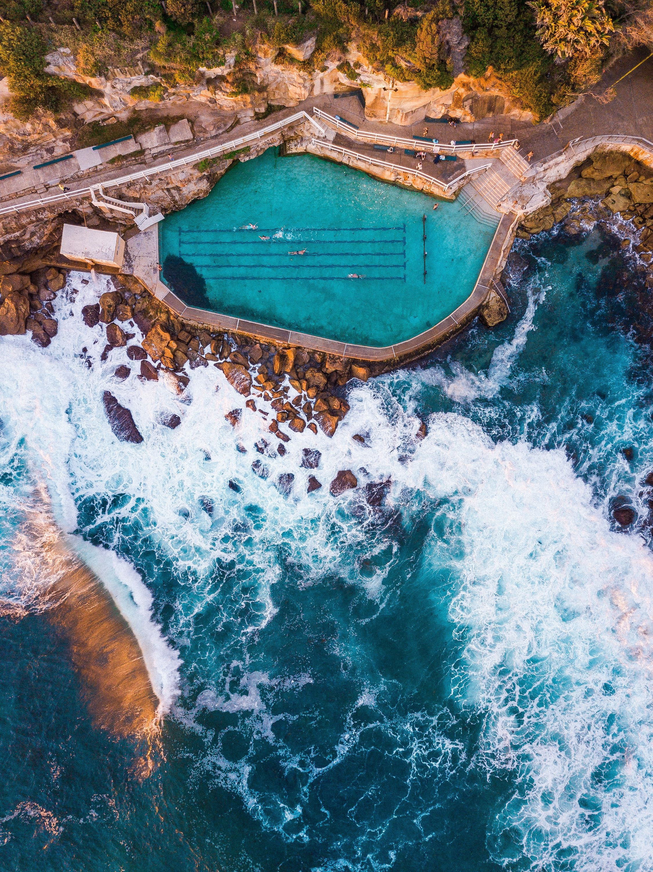 Bronte Rock Pool. Possibly The Most Beautiful Pool In The