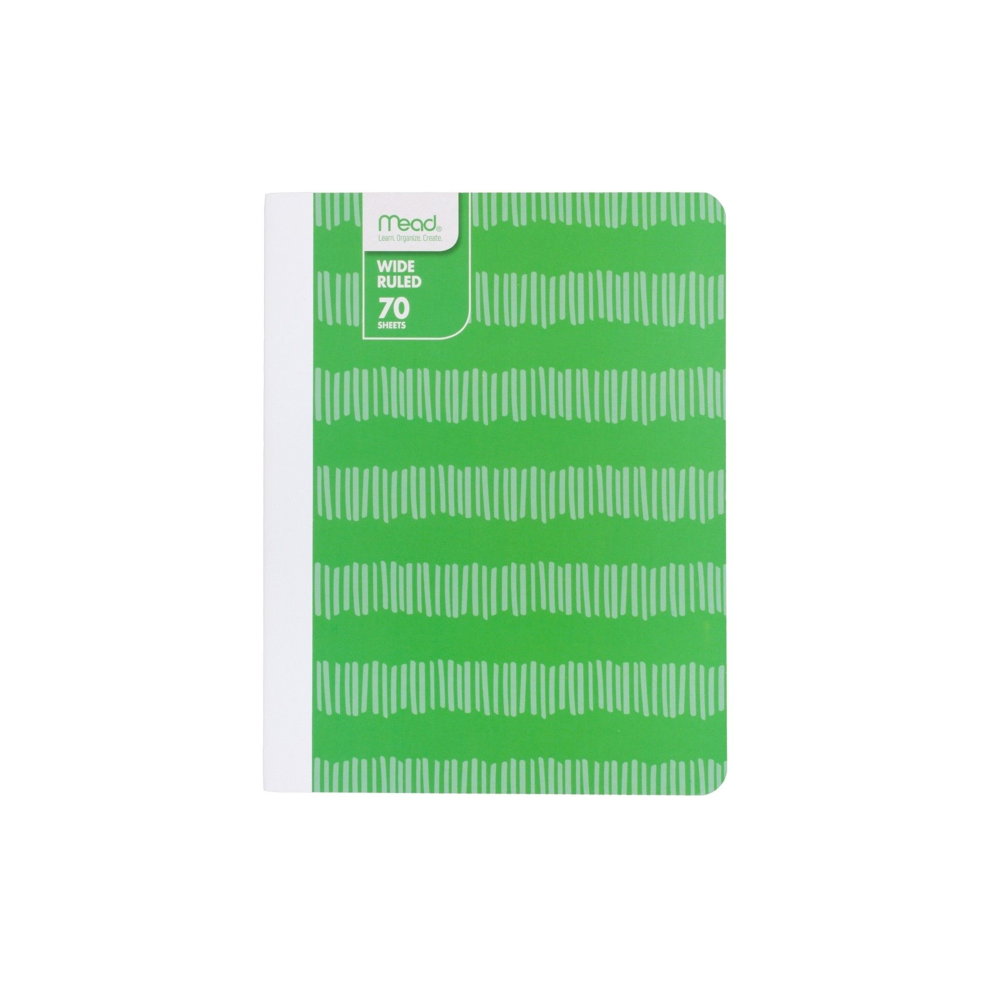 Mead Composition Notebook Wide Ruled - Green
