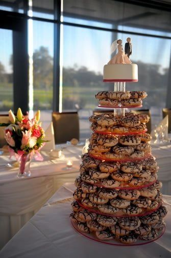 Pin By Kelly Vanbuskirk On Cake In 2019 Wedding Donuts