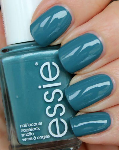 ESSIE Pool Side Service | nails | Pinterest | Uñas de flores ...