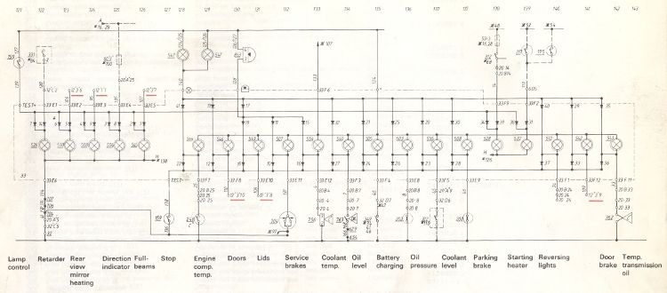 Volvo Service Manual Section 3 37 Component Wiring Diagram Chassis Number 503 Through To 4853