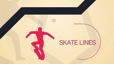 لعبة اندرويد جديدة 2016 Skates Lines
