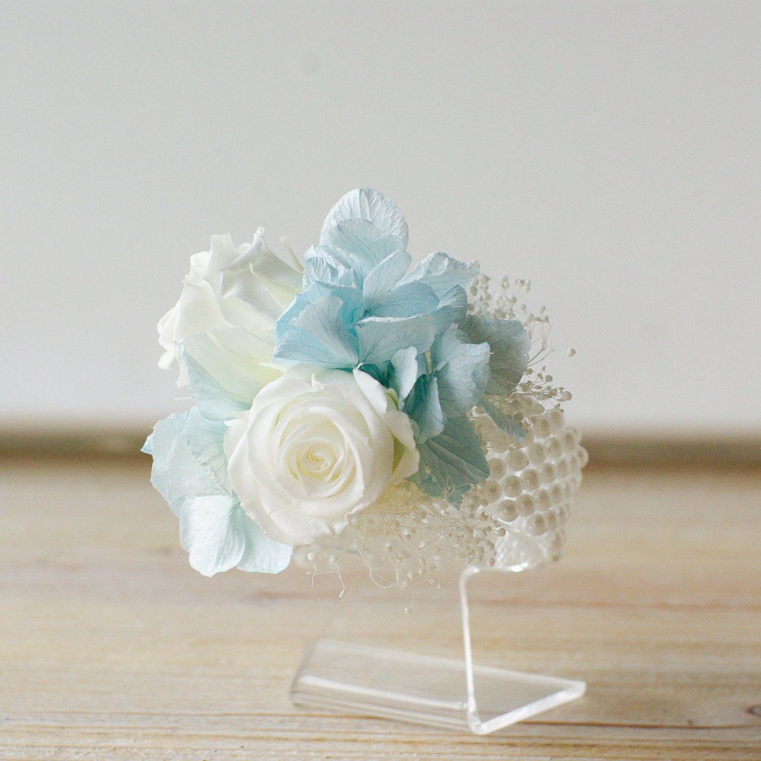 Corsage, Light Blue, White Roses, Pin On Corsage, Wrist Corsage, Preserved  Dried Flowers, Flowers To Wear, Womenu0027s Flowers, Momu0027s Flowers, ... Gallery