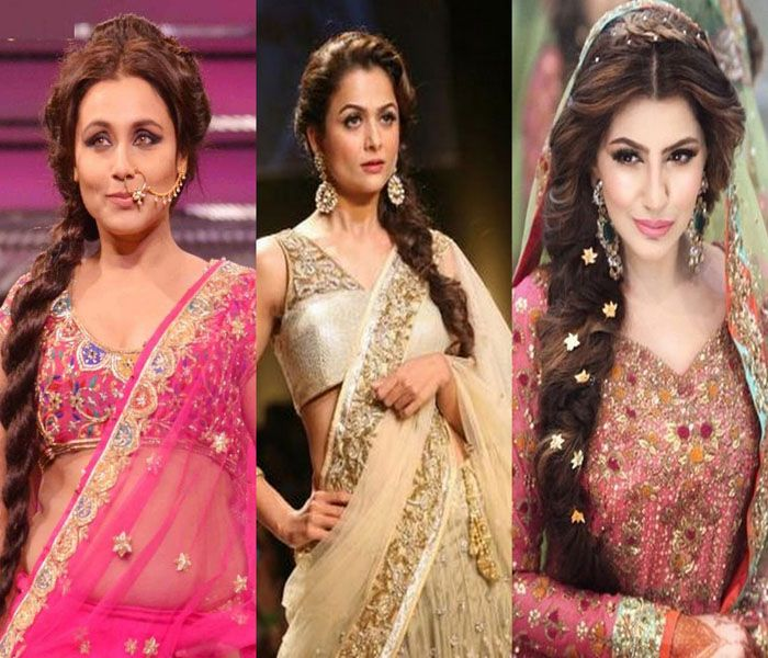 5 Easy Lehenga Hairstyles For Round Face Sassy Indian Fashion Lehenga Hairstyles Hairstyles For Round Faces Hair Styles