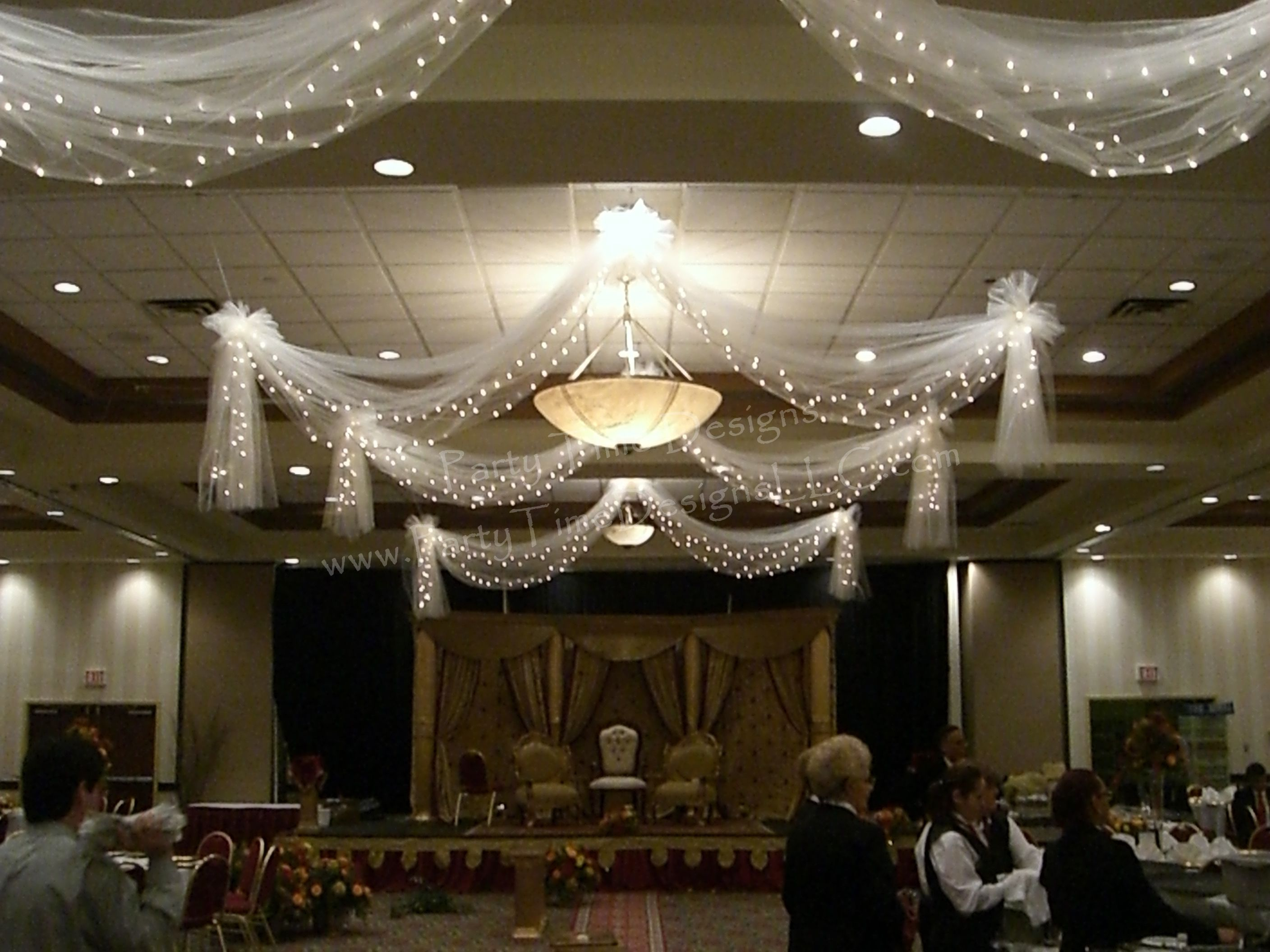 Swag Tulle Draping w/ Lights & Swag Tulle Draping w/ Lights | Tulle Draping | Pinterest ... azcodes.com