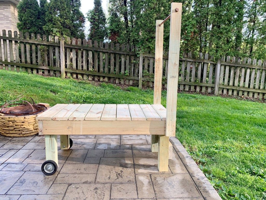 Diy grooming table for big dogs my brown newfies in