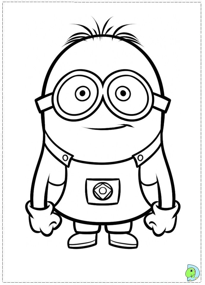 The despicable me 2 coloring pages called minion to coloring now available a minion coloring page this funny character is one of grus minions in gru film