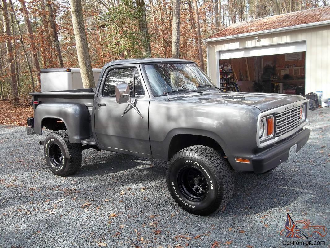 1976 Dodge Power Wagon Stepside images | trucks | Dodge trucks, Dodge power wagon, Trucks