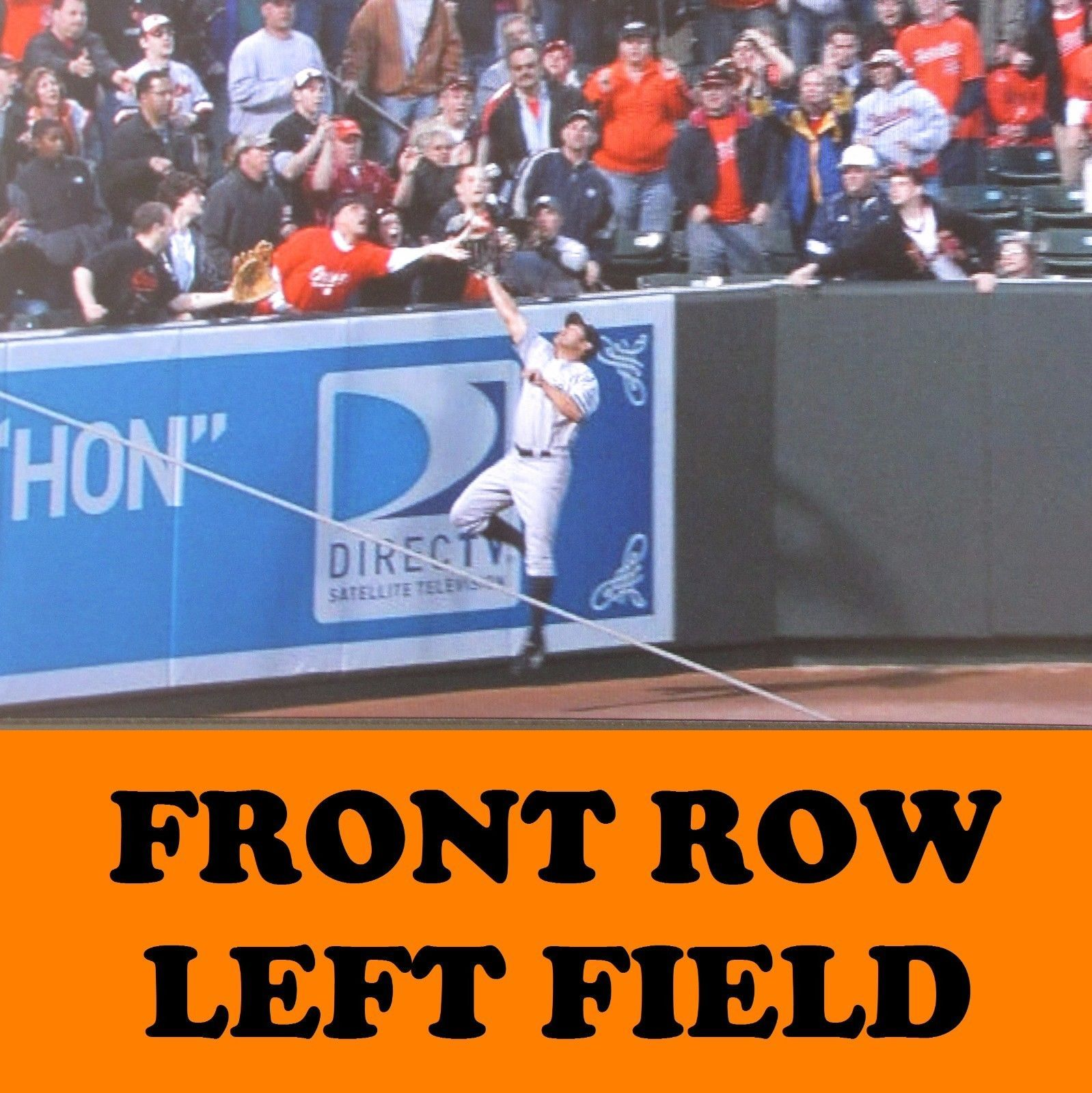 tickets 2 Front Row Seats Baltimore Orioles Tickets vs Kansas City Royals 8