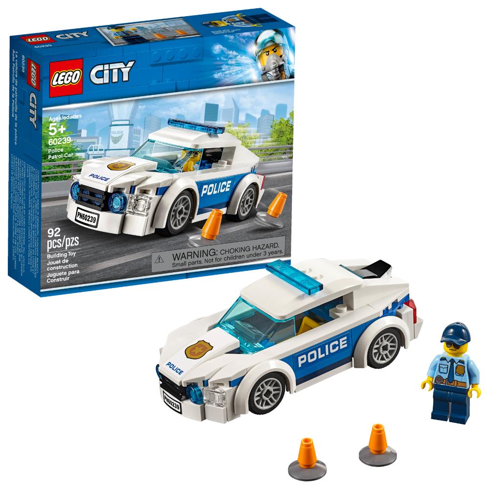 Lego City Police Police Patrol Car 60239 Walmart Com Lego City Police Lego Police Lego City