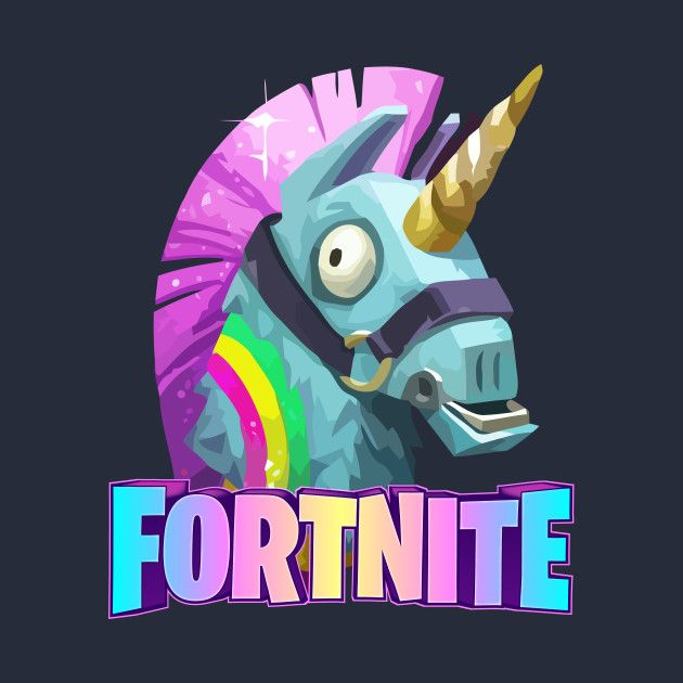 Check Out This Awesome Fortnite Unicorn Design On Teepublic