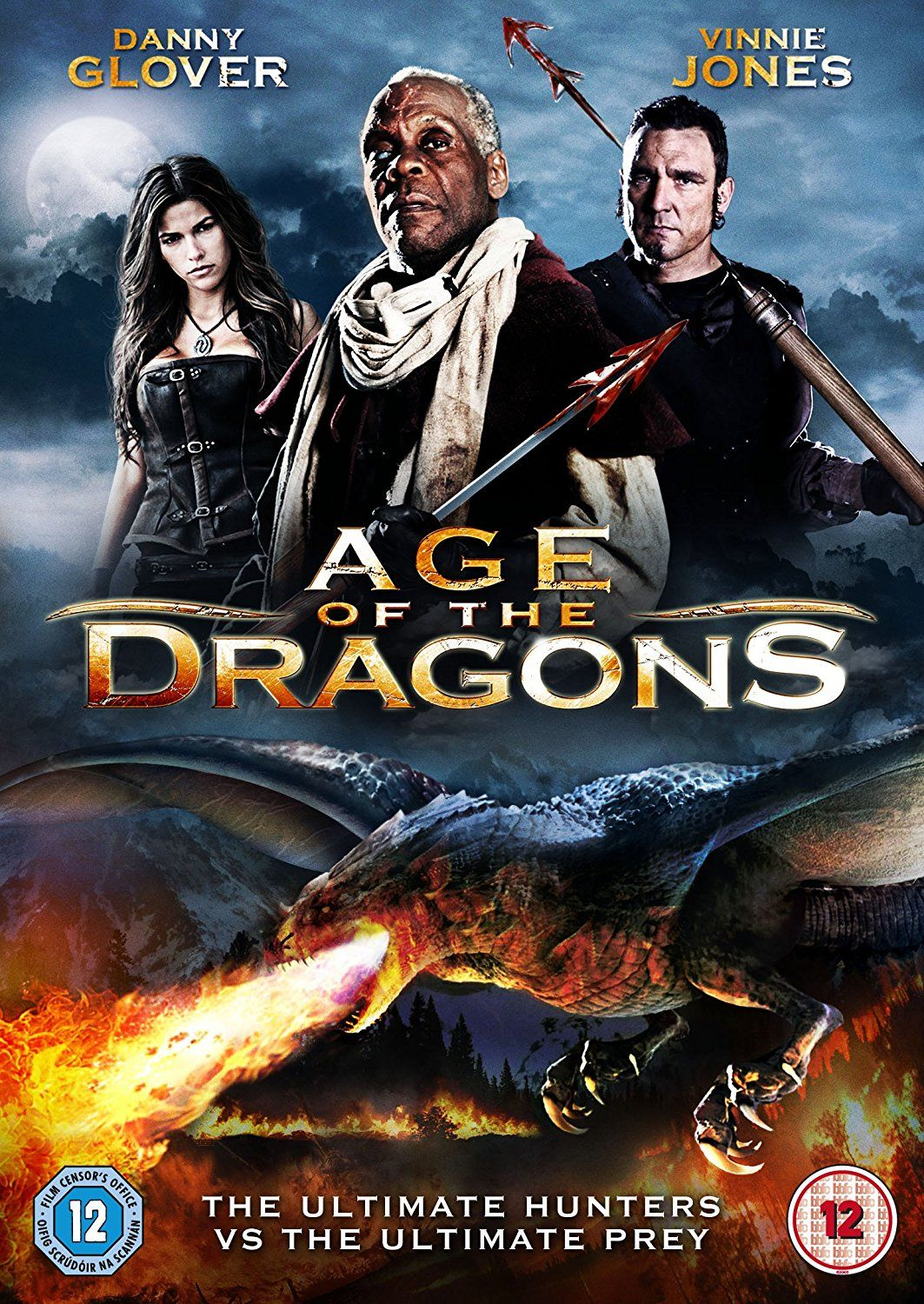 Age of the Dragons [DVD] [2010]: Amazon.co.uk: Danny Glover, Vinnie Jones,  Corey Sevier, Ryan Little