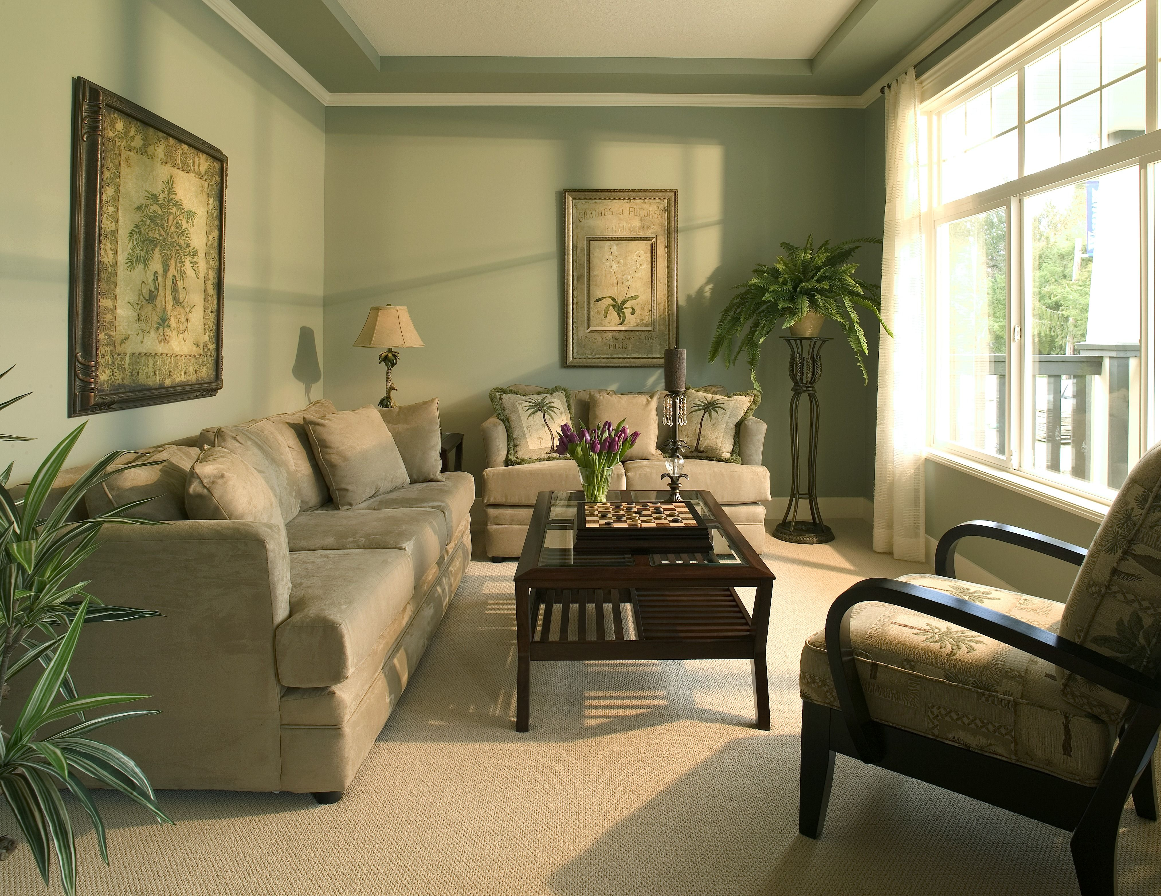 13 Quick And Easy Interior Painting Tips With Images Best Living Room Design Colonial Living Room Living Room Photos