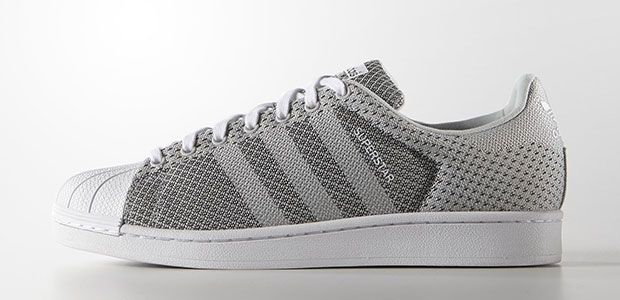 41406d22edde Adidas Originals Superstar tissu weave gris  sneakers  superstar  adidas