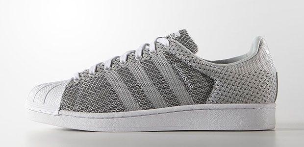 Adidas Superstar Weave Grise